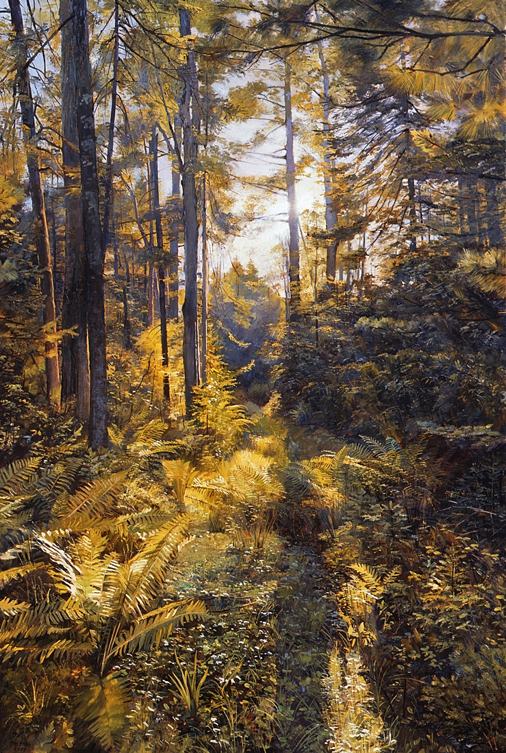 28 Carl's Path, 2009, oil on linen,  36 x 24 inches