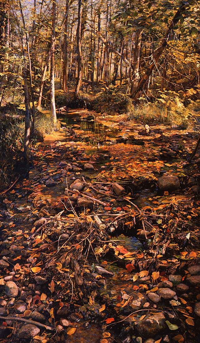 4 Sonnets to Orpheus, 1990, oil on linen,  96 x 57 inches
