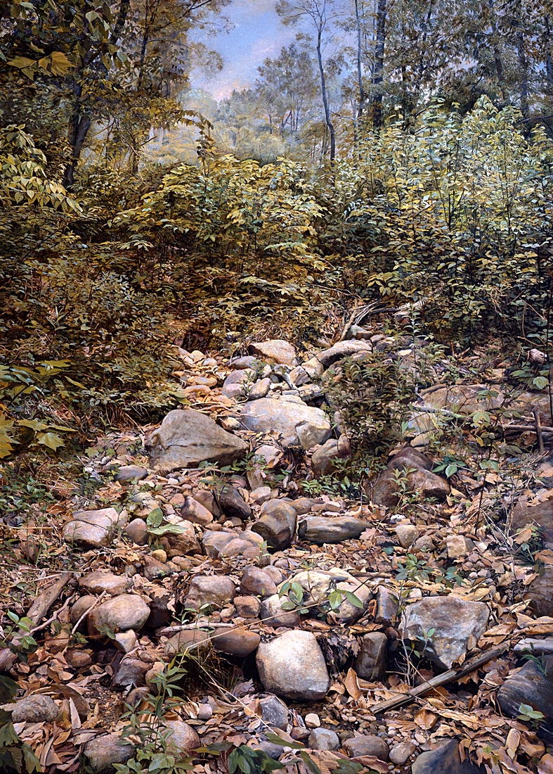 9 The Hounds of Spring, 1988, oil on linen,  96 x 68 inches
